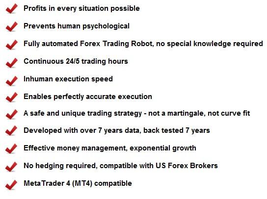 FX Robot Advantages