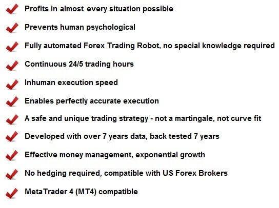 Forex Robot Advantages